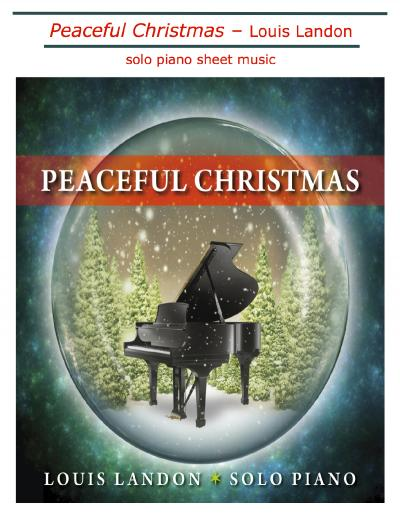 Peaceful Christmas - Solo Piano sheet music